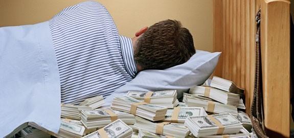 Ganhar dinheiro sem fazer nada